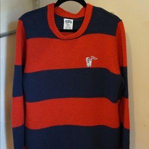 Large Billionaire Boys Club striped sweater
